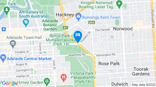Adelaide Royal Coach Map
