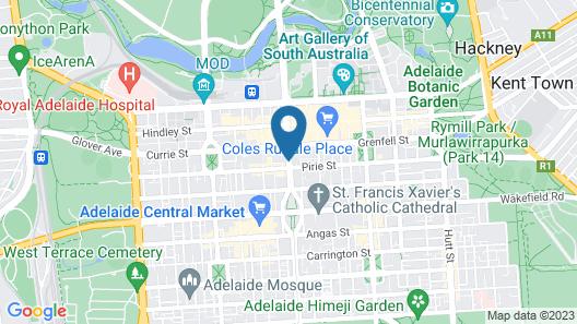 Ambassadors Hotel Map