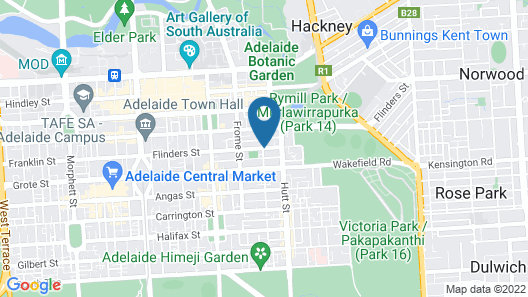 The Soho Hotel, an Ascend Hotel Collection Member Map