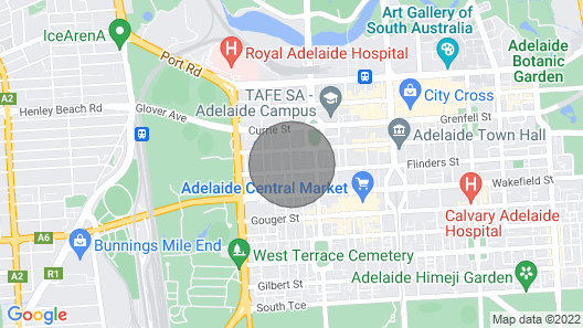 A Cut Above The West - Pool - Rooftop Bar - Gym - Wifi Map