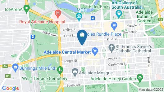 Regency Apartments Map
