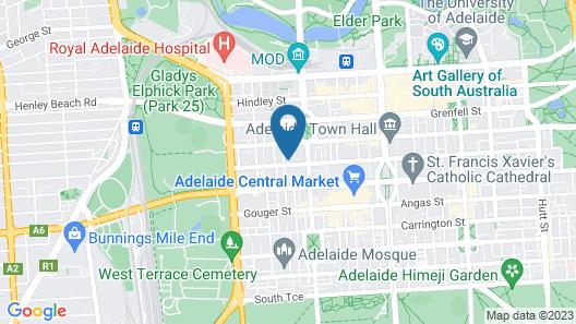 Mid City Apartment Map