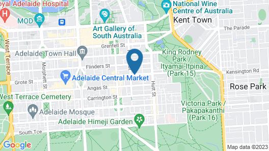 Adabco Boutique Hotel Map