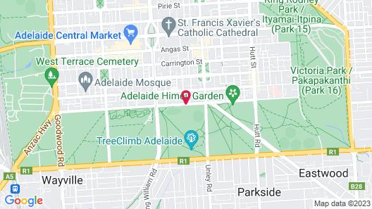 Sage Hotel Adelaide Map