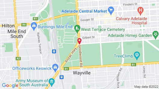 Rydges Adelaide Map