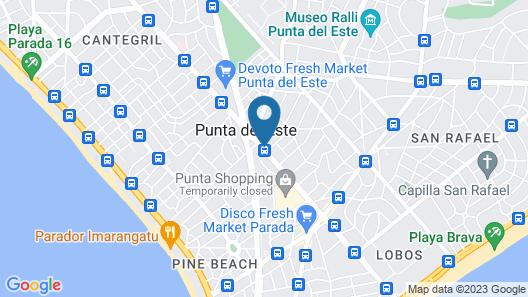 Yoo Punta del Este Rental Club Map
