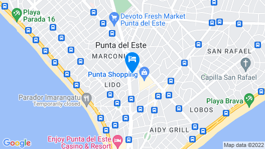 Parque Hotel Jean Clevers Map