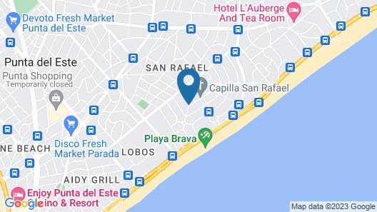 Hotel La Capilla Map
