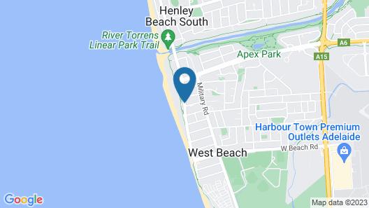 Atlantic West Beach Apartments Map