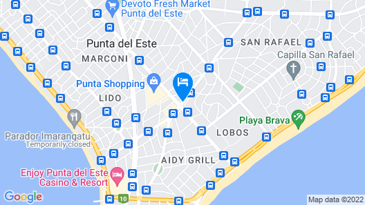 Sisai Hotel Boutique Map