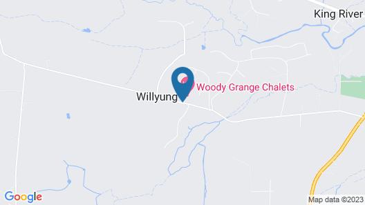 Woody Grange Chalets Map