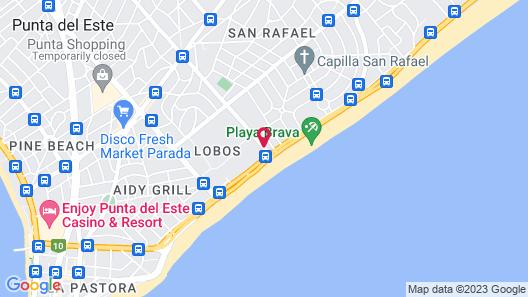 The Grand Hotel Punta Del Este Map