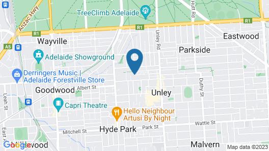 La Loft Apartments Unley Map