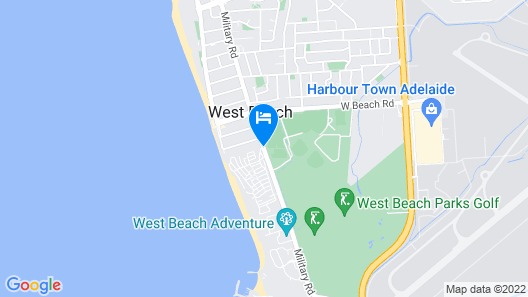 Big4 West Beach Parks Map