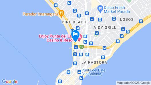 Enjoy Punta del Este Map
