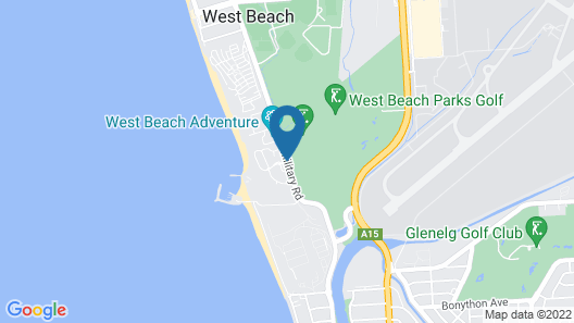 The Retreat at West Beach Parks Map