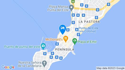 Hotel Castilla Map