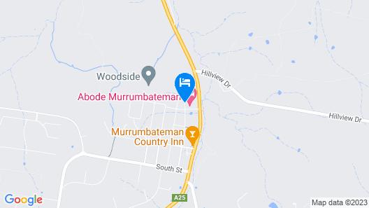 Abode Murrumbateman Map