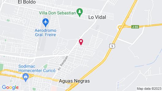 Apart Hotel Punto Real Map