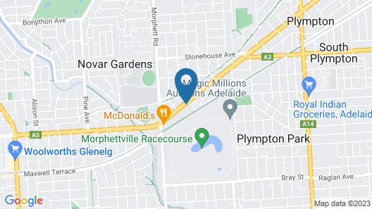Morphettville Motor Inn Map