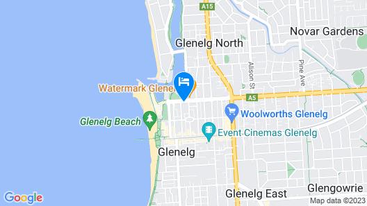 Atlantic Tower Motor Inn Map