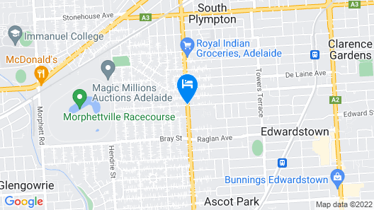 Marion Motel and Apartments Map