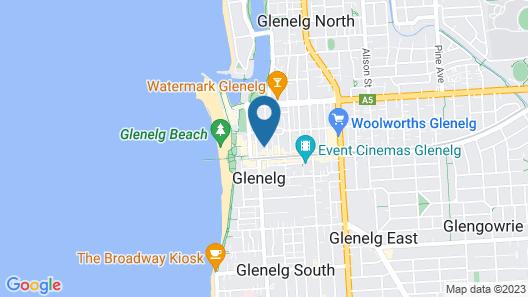 Adelaide Accommodation Map