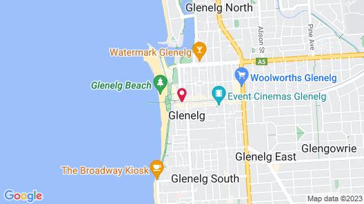 Stamford Grand Adelaide Map