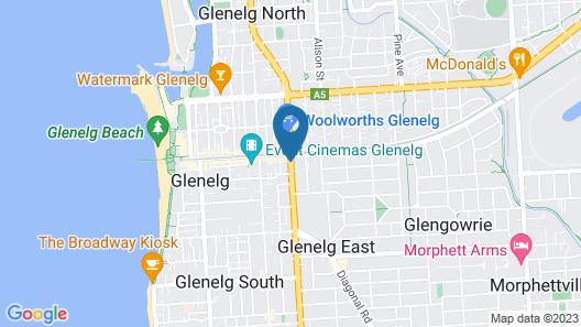 Glenelg Gateway Apartments Map
