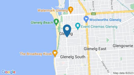 Hi 5 Luxury Holiday Apartments Map
