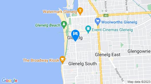 Taft Motor Inn Map