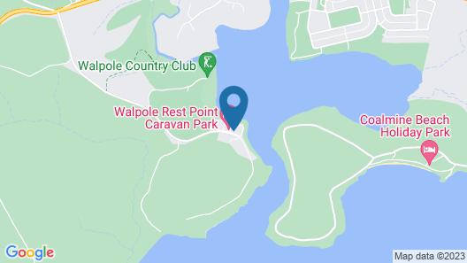 Walpole Rest Point Caravan Park Map