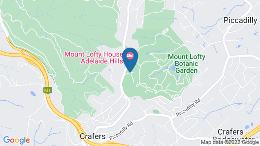 Mount Lofty House MGallery Map