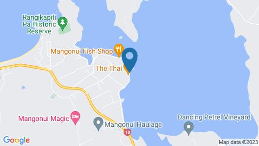 Mangonui Waterfront Apartments Motel Map