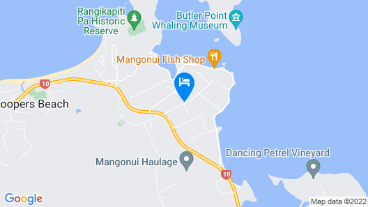 Ranui Lodge Motel Map