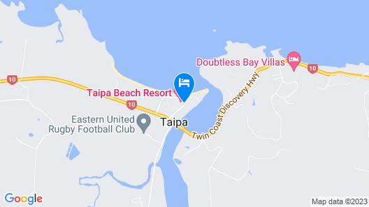 Taipa Beach Resort Map