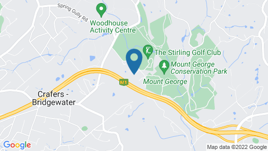 The Retreat at Stirling Map