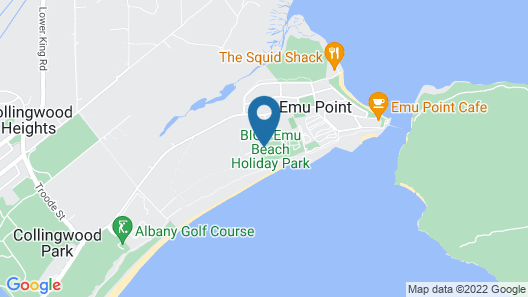 BIG4 Emu Beach Holiday Park Map