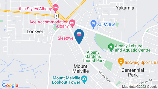 Sleepwell Motel Map
