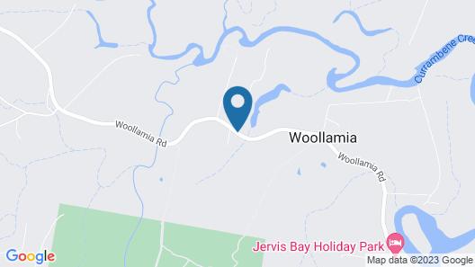 Paperbark Camp Map