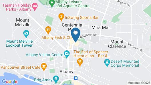 Dog Rock Motel Map