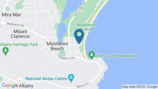 BIG4 Middleton Beach Holiday Park Map