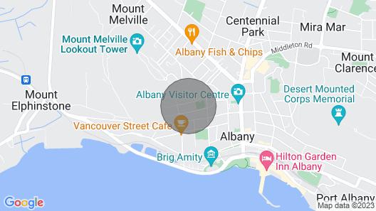 The Cliff St Cottage - Coastal Cottage Living Map