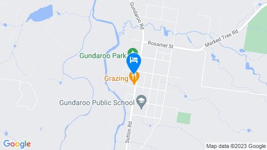 The Nest at Gundaroo Map