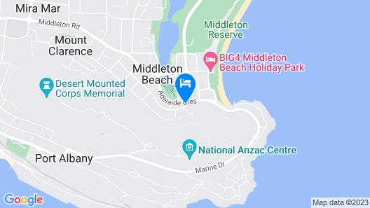 Banksia @ Middleton Map