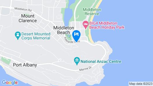 Balneaire Seaside Resort Map