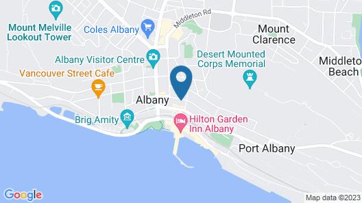 Six Degrees Motel Map