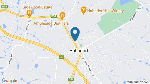 The Hahndorf Old Mill Motel Map