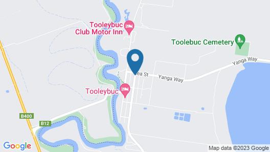 Tooleybuc Country Roads Motor Inn Map