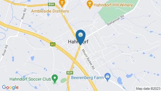 Hahndorf Motel Map